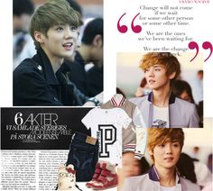 """""""Luhan"""" by peachgirl100 ❤ liked on Polyvore"""