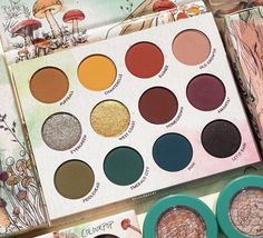 At Forest Sight Palette - Colourpop X Raw Beauty Kristi. Colourpop Cosmetics, Eyeshadow, Coding, Makeup Items, Collaboration, Beauty, Instagram, Bring It On, Collection