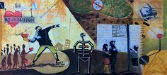 A guerra do racismo 2075 . Pintura de João  Timane.   joaotimane#joãotimane#desenhos#pintura#moçambique#artesplasticas#pintores#drawing #draw #sketch #art #artist #arte #artoftheday #artistic #artsy #illustration #photooftheday#desenhos#acrílico#óleo#pinturasdemocambique#artesplasticas#arte#