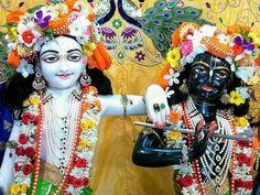 Instagram photo by hare krishna • Mar 23, 2018 at 5:49 AM Hare Krishna, Deities, Worship, Wreaths, Halloween, Instagram, Decor, Decoration, Door Wreaths