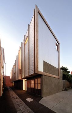 Yan Lane Townhouses in Melbourne, Australia by Justin Mallia