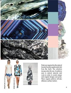 This project was done for a Current Trends and Forecasting class. We had to research some trends that we believed to see in the upcoming Spring/Summer 2015 seasons. We did research and documented it in this book. Trends 2015 2016, Ss 15, Spring Summer 2015, Surface Design, Color Patterns, Print Design, Seasons, Megatrend, Unique