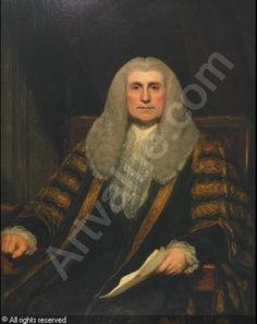 Edward, Lord Thurlow (1731-1806). William's Lord Chancellor. The two did not get on well together, although they remained colleagues until 1792