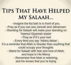Tips That Have Helped My Salaah (Prayers) Islamic Prayer, Islamic Qoutes, Islamic Teachings, Islamic Inspirational Quotes, Muslim Quotes, Religious Quotes, Islam Hadith, Allah Islam, Islam Muslim