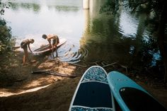 Austin's Lady Bird Lake is great for all kinds of paddlesports. This photo comes from Bronwynn, one of our expert store staff. @Surftech Sup
