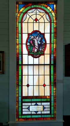 Stained Glass Windows at Knox Chapel United Methodist Church in Cleveland, NC