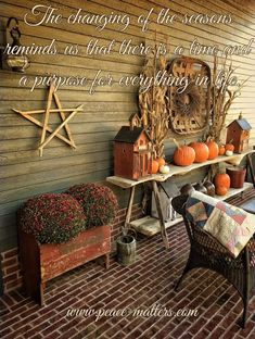 Primitive Fall, Fall Decor, Everything, Couch, Seasons, Texture, Wood, Dan, Crafts