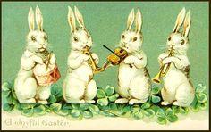 free vintage Easter images...use as bottle labels for easter