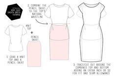 Very easy sheath dress tutorial