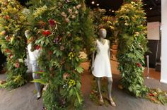 Chelsea in bloom, Hugo Boss, flower jungle, floral display