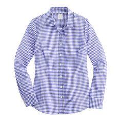Perfect shirt in mini-gingham