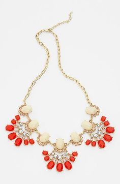 'Vintage Floral' Statement Necklace