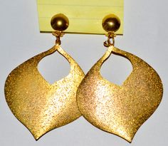 Dangle Earrings Drop Jewelry Gold Color Large Jewelry Women Casual #ER1 18 by eventsmatters on Etsy