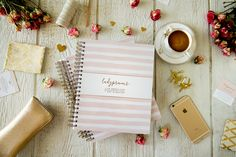 This motivating planner is completely customizable to start on any month of any year. It contains 11 spreads within each month. Which includes a monthly spread along with weekly spreads to keep your day to day workload completely organized. Ladypreneur Life Organizer will maximize your work/business potential with 3 spreads including, client workflow, budgeting, and social media tracking.
