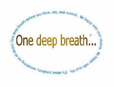 Take the deepest breath of your day, week, year, LIFE :)