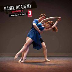 Tara and Ben from Dance Academy