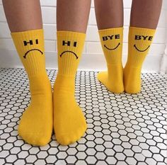 Image about indie yellow in Yellow ✨ by Fran on We Heart It #aesthetic #hi #bye #Yellow✨ #socks #yellow #indieyellow #yellow #grunge #tumblr #instafollow #tagforlikes #color #colors