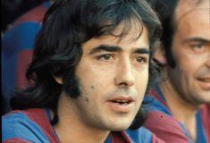 Un primer plano de Serrat , partido amistoso con los veteranos del Barça.