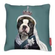 Queen of Dogs Cushion