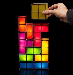 Tetris Stackable LED Lamp @ ThinkGeek