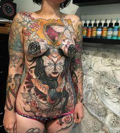Tattoo done by Jake Danielson. (in progress)