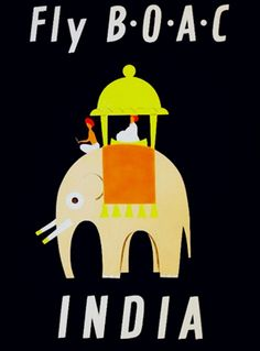 Vintage Indian Travel Poster