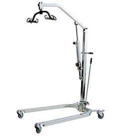 Hydraulic Patient Lifter, Holds 400 lbs. $769.00 FREE Shipping from uCan Health || Easy to assemble and disassemble, this user-firendly hydraulic patient lifter features adjustable height and base size. Shipping is free.