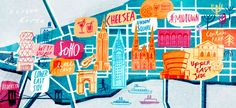 New York - Cathrine Finnema illustration