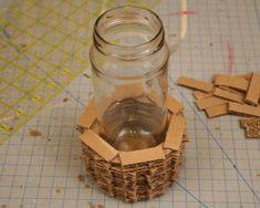 Как из бумаги сделать вазу