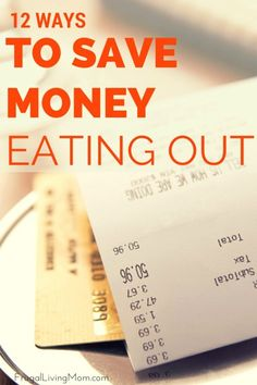 I LOVE to eat out. But it is so expensive. I am often amazed that for my family of 4 we easily could spend as much as it costs to buy a weeks worth of groceries. We don't eat fast food (except Chipotle) so I can't keep the costs down that way. So I use a few other tricks to make sure I don't go broke!