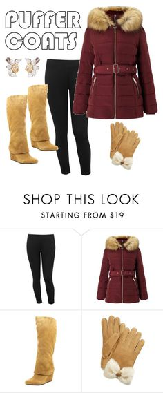 """""""🌨❄⛄"""" by ms-chrystleb ❤ liked on Polyvore featuring M&Co, Miss Selfridge, Jessica Simpson, UGG and Harry Winston"""