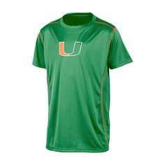 NCAA Miami Hurricanes Boys' Performance T-Shirt - XS, Multicolored
