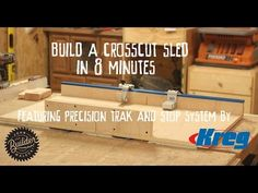 Make a Cross Cut sled in 8 Minutes - YouTube
