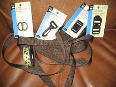 DIY dog collar and leash @ Do It Yourself Remodeling Ideas