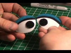 Puppet Building Ep11 - Roly Head Puppet - In this Episode we start to put the features onto the puppet. We begin by making the Puppets eyes- made from ordinary soup spoons.