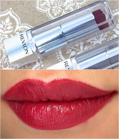 "Revlon Ultra HD Lipstick in ""Gladiolus"" & ""Iris"": Review and Swatches"