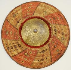 Ottoman kalkan, (shield), Staatliche Kunstsammlungen Dresden.
