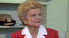 Betty Ford on Admitting She Was an Alcoholic Betty Ford, Barbara Walters, In This Moment, Lady