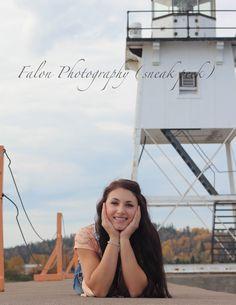 Senior Photography  Posing Ideas for Senior Girls  Grand Marais, MN  Lighthouse