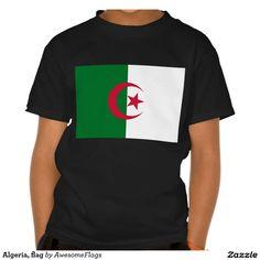 Algeria, flag t-shirts