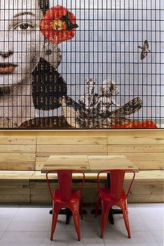 The concept of the restaurant comes from combining the nostalgic aspects of Asian heritage within the pop culture urban context. Spanning the interior of the restaurant is the series of feature walls, which surround the seating area....