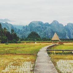 Viang Tara, Vang Vieng, Laos. Photo courtesy of pthep_sf on Instagram.