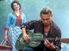 In 2000, Johnny whipped out his guitar again for the bitter-sweet cinematic confection that was Chocolat.