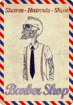 Placa Decorativa Barbearia | Ciranda Artesanal | Elo7