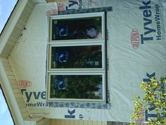 Installation of new full-frame replacement windows.