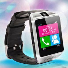 Smart Watch Para Llamar con Bluetooth y Cámara GV08 - http://complementoideal.com/producto/electronica/smartwatch/smart-watch-para-llamar-con-bluetooth-modelo-gv08/  - Con el Smart Watch GV08 podrás realizar llamadas desde te muñeca, ya que cuenta con ranura para la SIM, utiliza cualquier SIM de la compañía y que sea. Realiza llamadas, emvía SMS todo desde tu Smart Watch GV08. Además si no dispones de una SIM puedes sincronizarlo con tu smartphone mediante Blue...