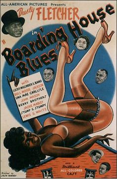 Black Hollywood: Boarding House Blues by Black History Album, via Flickr