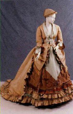 Worth day dress ca. 1869-70