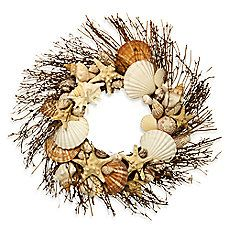 image of Natural Shell Wreath