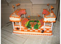 vols stadium cake | GO VOLS grooms cake, As huge UT fans, there was no better grooms cake ...